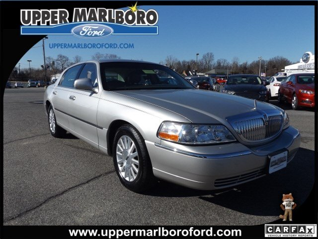 Used Lincoln Town Car Executive