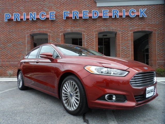 Used Ford Fusion Titanium