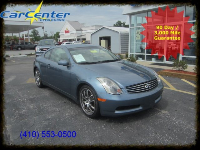Used Infiniti G35 Coupe Sport Package